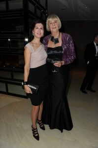 Authors Deirdre Kelly and Susan Swan at the 2012 Writers Trust Gala