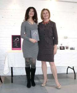 With Vanessa Harwood at Toronto's The Extension Room, March 24, 2013