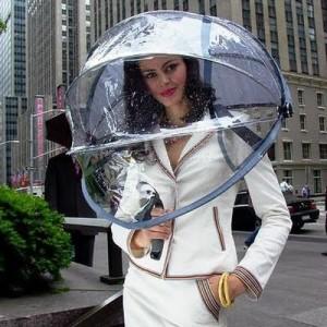 If the umbrella fits, wear it