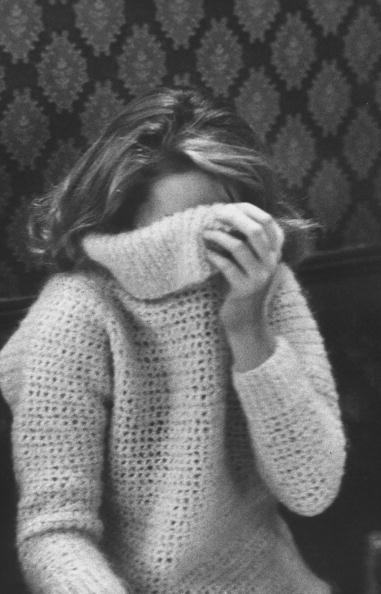 Young people wearing bulky sweaters.  (Photo by Pierre Boulat//Time Life Pictures/Getty Images)